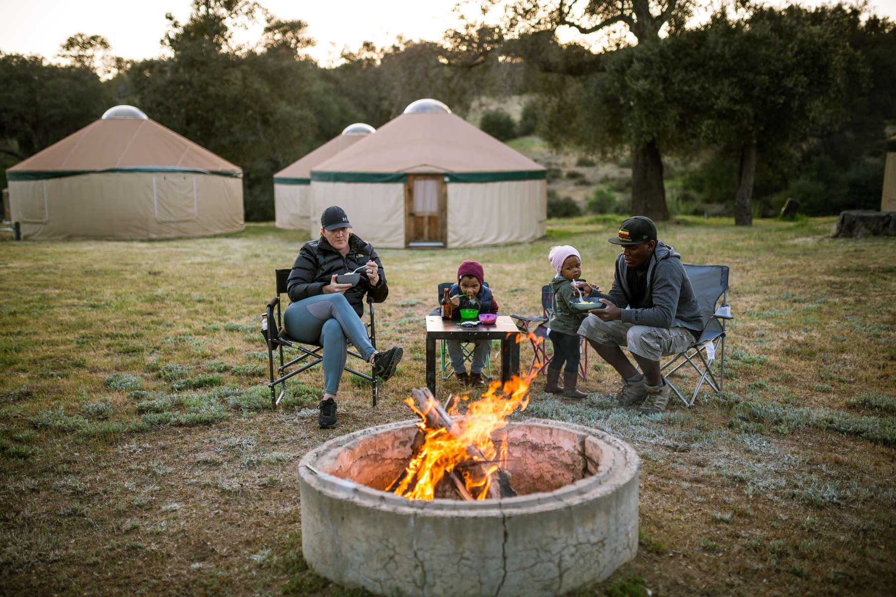 Stallion Oaks Ranch ~16' Yurt