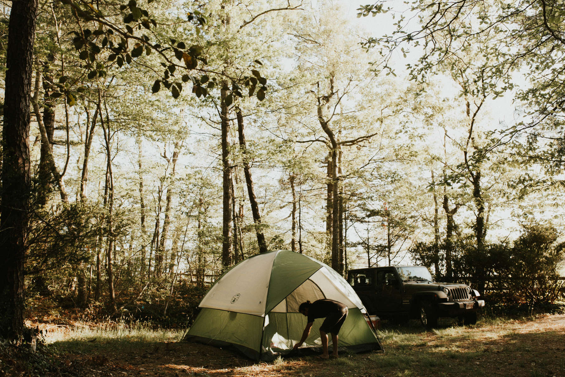 Best Camping in and Near Nickerson State Park