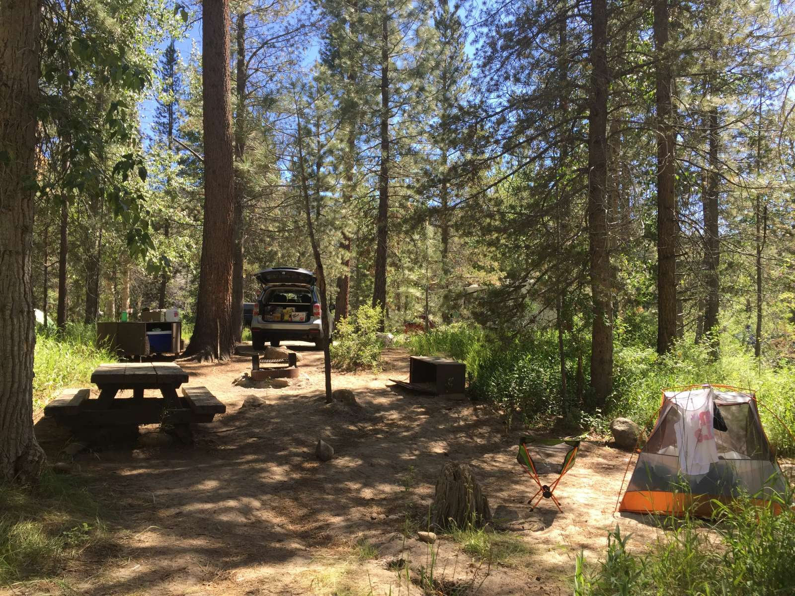 Mono Hot Springs >> Mono Hot Springs Campground Sierra Ca 5 Hipcamper Reviews