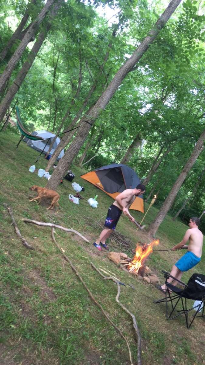 Hidden River Primitive Tent Camping Hidden River Cabin Va 2